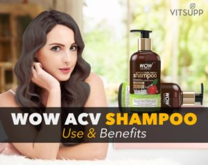 wow apple cider vinegar shampoo review india