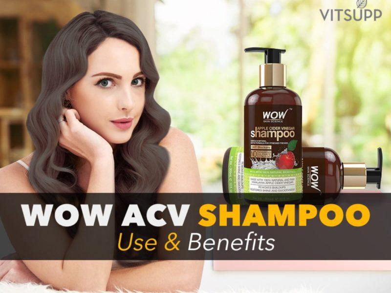 wow apple cider vinegar shampoo review india