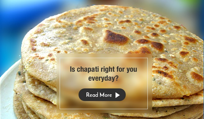 Is it healthy to eat Chapati or Bread everyday