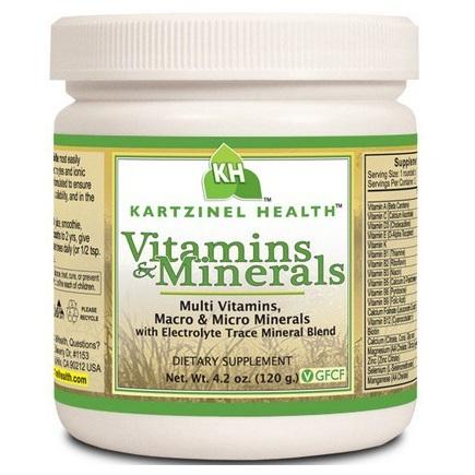 Iron and Copper Free Multi Vitamin and Multi Mineral formula for kids