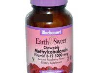 Bluebonnet Methylcobalamin Vitamin B12 1000mcg 60 Chewable Tablets