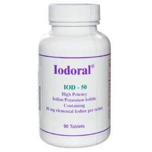 Buy Best Optimox Iodoral 50mg 90 tablets Iodine Supplement in India from VitSupp Healthcare