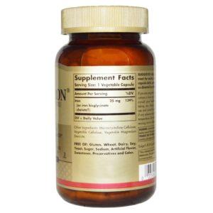 Buy Best Solgar Gentle Iron Bisglycinate Supplement in India from VitSupp Healthcare 2