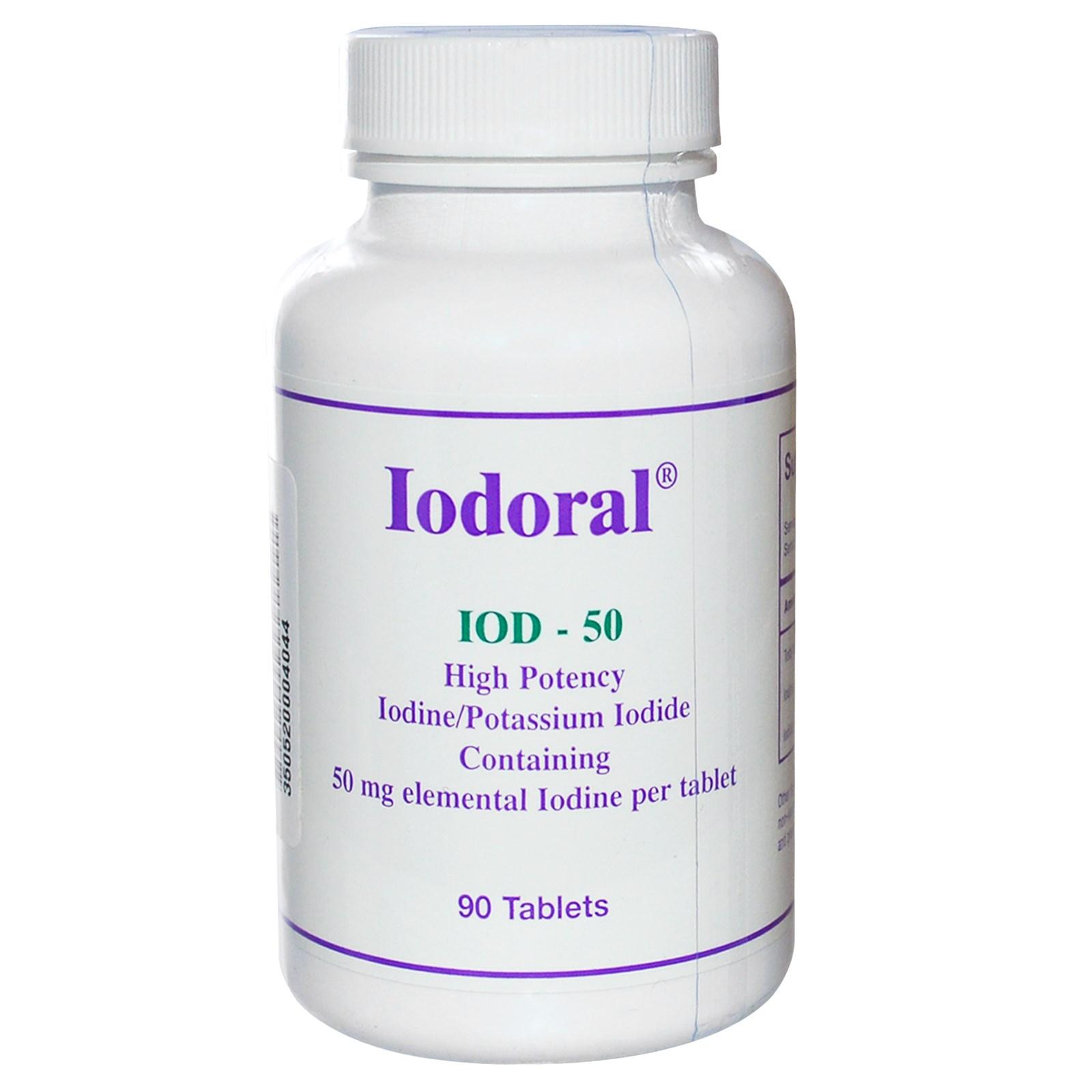 Best form of Iodine Supplement