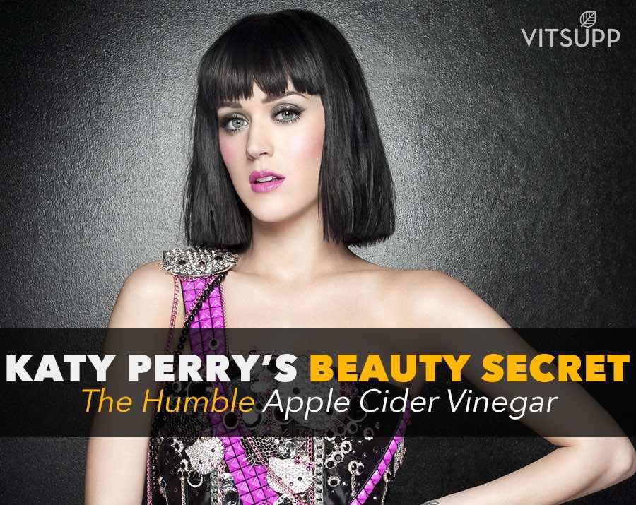 Apple Cider Vinegar is Katy Perrys beauty secret
