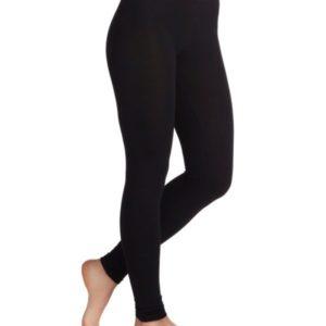 Organic Churidar Leggings – Black