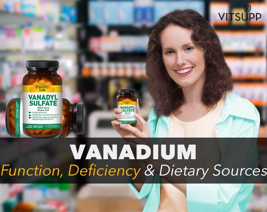 interesting facts about vanadium deficiency symptoms