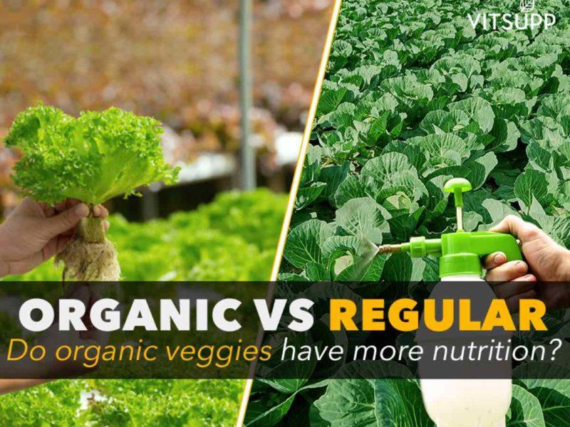 organic vs inorganic vegetables