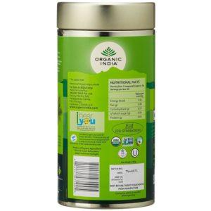 Organic India Tulsi Green Tea -100 gm-1