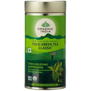 Organic India Tulsi Green Tea -100 gm