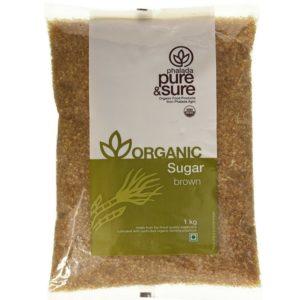 Pure & Sure Organic Brown Sugar-1kg