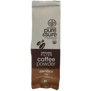 Pure & Sure Organic Coffee Powder SMOOTH-200g