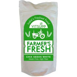 Farmer's Fresh Chia Seeds white