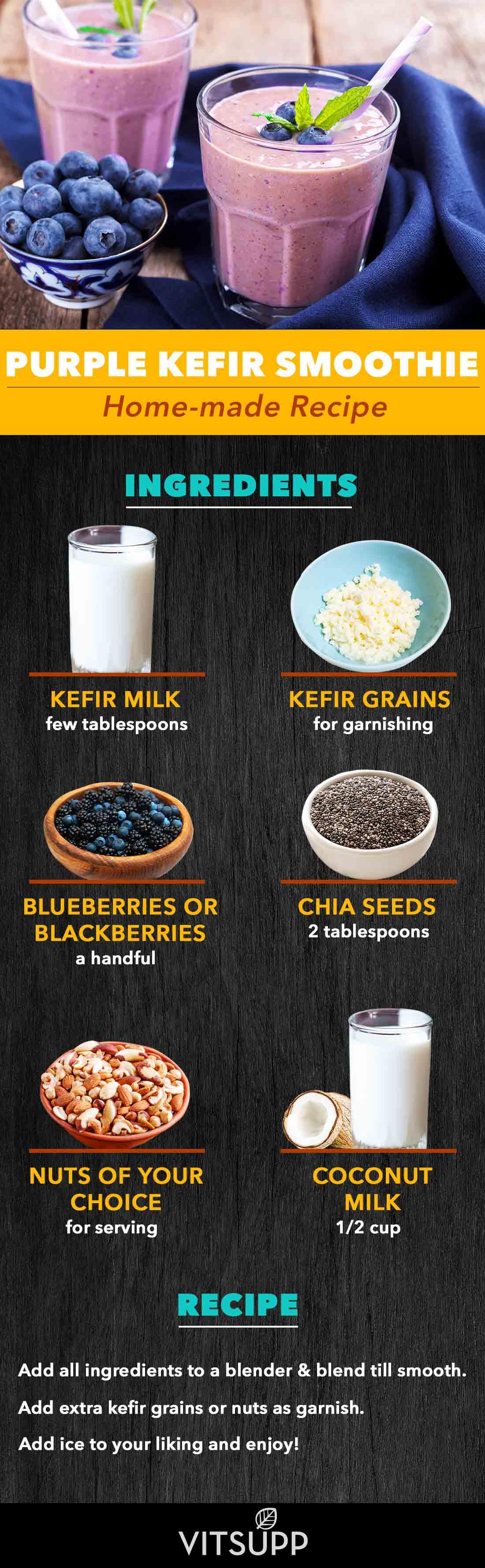 How to make kefir yogurt drink