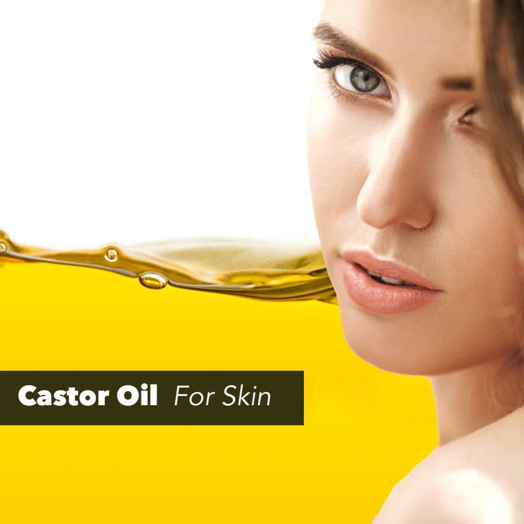 castor seed oil for skin