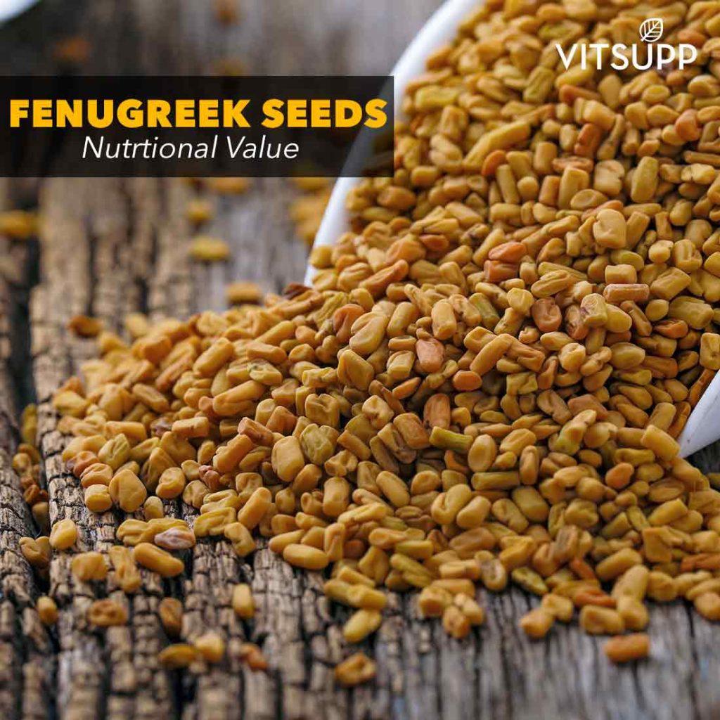 Nutritional value of fenugreek seeds