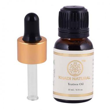 Khadi natural tea tree essential oil