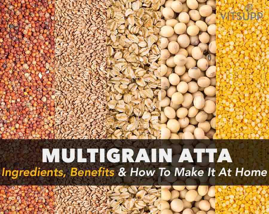 multigrain atta ingredients in hindi
