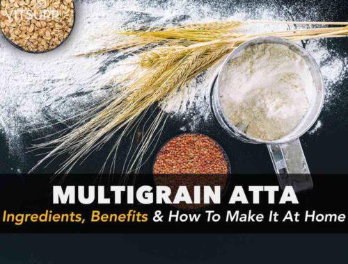 multigrain atta ingredients ratio in hindi