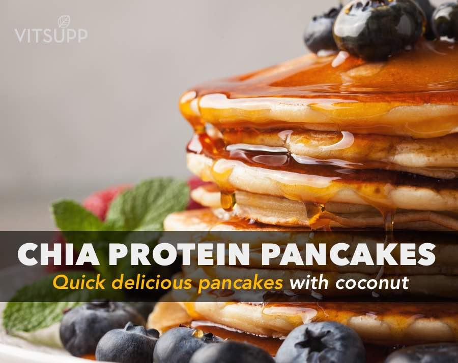 Chia Seeds Protein Pancake