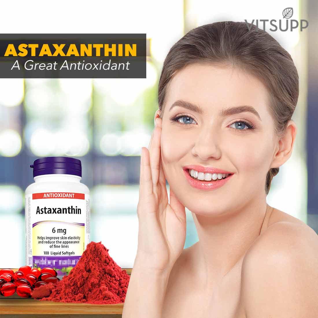 organic astaxanthin antioxidant benefits